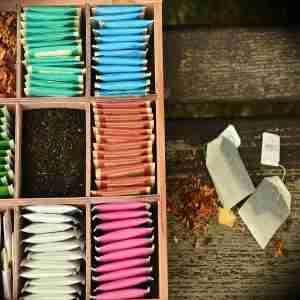 Fran tea box